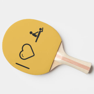 I Love Massage Ping Pong Paddle