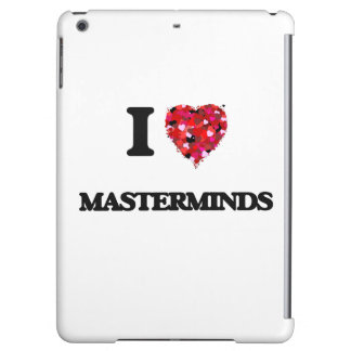 I Love Masterminds iPad Air Cover