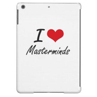 I Love Masterminds iPad Air Covers