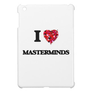 I Love Masterminds iPad Mini Case