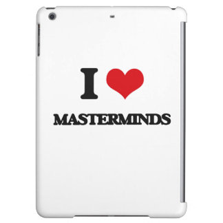 I Love Masterminds iPad Air Case
