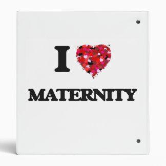 I Love Maternity Binders