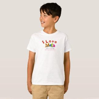 """""""I Love Math"""" T-Shirt"""