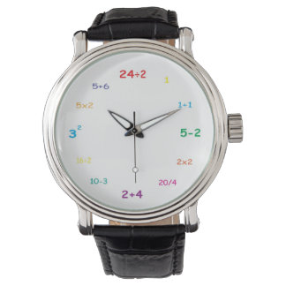I love math! wrist watch