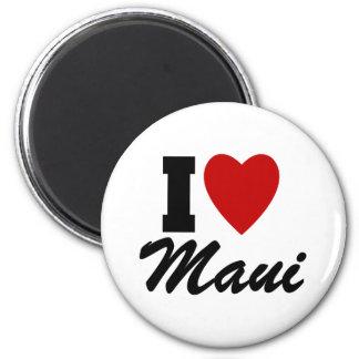 I Love Maui Magnet