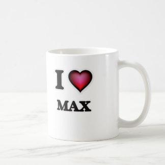 I Love Max Coffee Mug