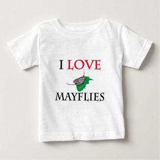 I Love Mayflies Baby T-Shirt