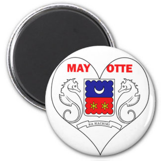 I Love Mayotte Magnet