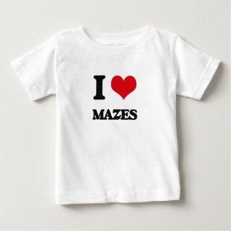 I Love Mazes Baby T-Shirt