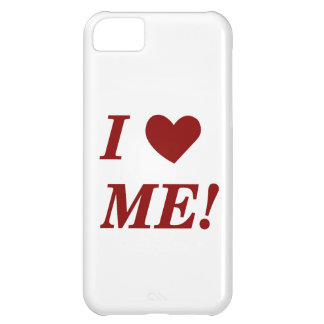 I Love Me - Dark Red iPhone 5C Cover