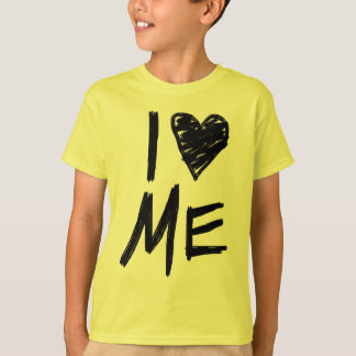 I Love Me, Girls Yellow Video T-Shirt