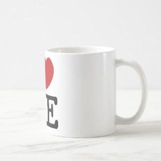 I Love Me Heart Me self esteem confidence dignity Coffee Mug