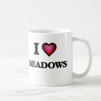 I Love Meadows Coffee Mug