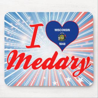 I Love Medary, Wisconsin Mousepad