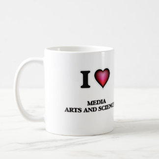 I Love Media Arts And Sciences Coffee Mug