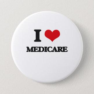 I Love Medicare 3 Inch Round Button