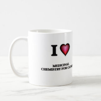 I Love Medicinal Chemistry For Cancer Coffee Mug