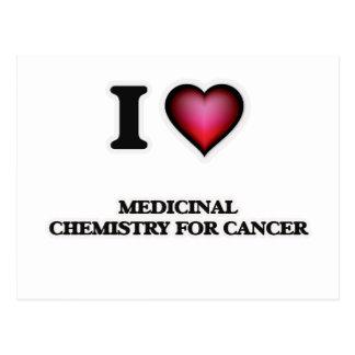 I Love Medicinal Chemistry For Cancer Postcard