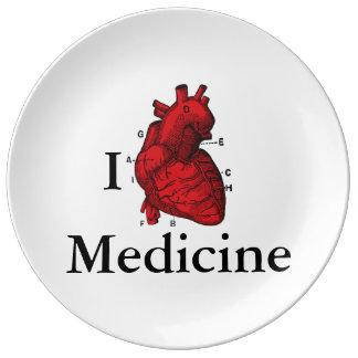 I Love Medicine Plate