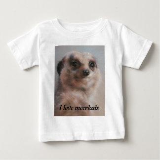 I love meerkats baby T-Shirt