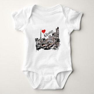 I love Melbourne Baby Bodysuit