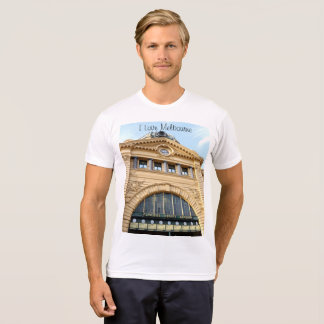 I Love Melbourne (Flinders Street station) T-Shirt