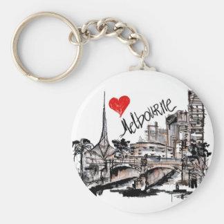 I love Melbourne Keychain