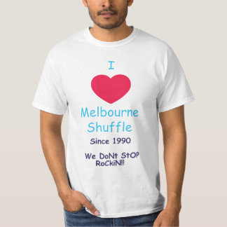 I love Melbourne Shuffle Tee