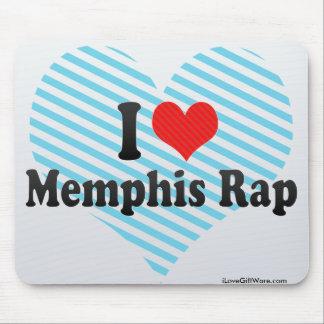 I Love Memphis Rap Mouse Pad