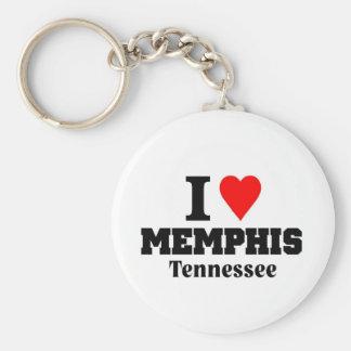 I love Memphis Tenessee Keychain