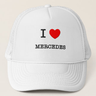 I Love Mercedes Trucker Hat