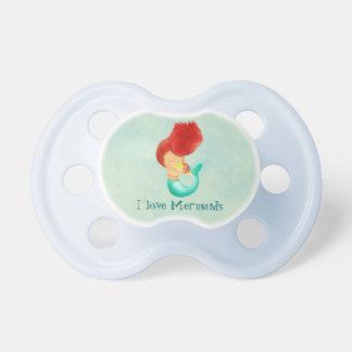 I love Mermaids Baby Pacifiers