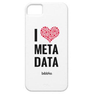 I Love Metadata Phone Case