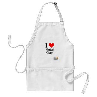 I love metal clay standard apron