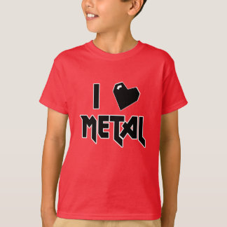 I LOVE METAL Shirt