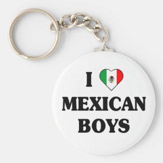 I love Mexican Boys Keychain