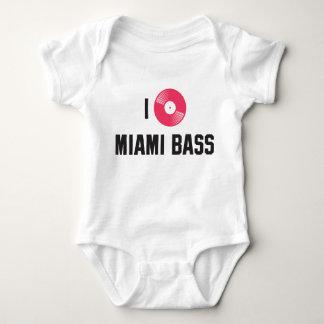 I love Miami Bass Tee Shirt