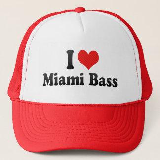 I Love Miami Bass Trucker Hat