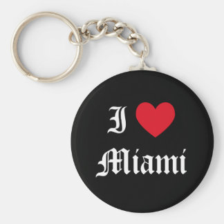 I Love Miami Keychain