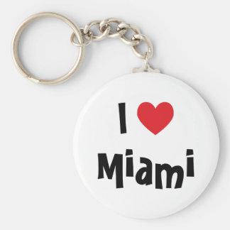 I Love Miami Keychain