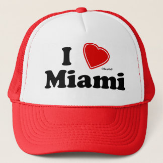 I Love Miami Trucker Hat