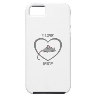 I Love Mice iPhone 5 Cover