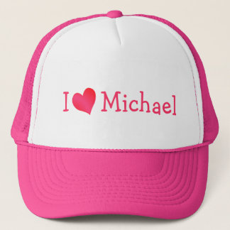 I Love Michael Hat
