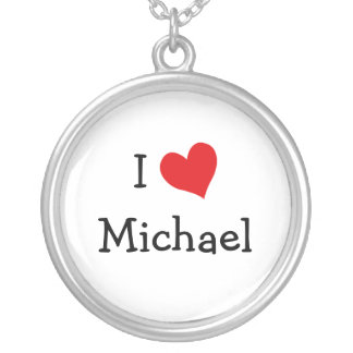 I Love Michael Necklace