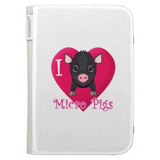I love Micro Pigs Kindle Keyboard Case