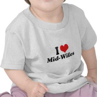 I Love Mid-Wifes Tshirt
