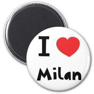 I love Milan Magnet
