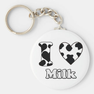I love Milk Keychain