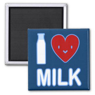 I Love Milk Magnet