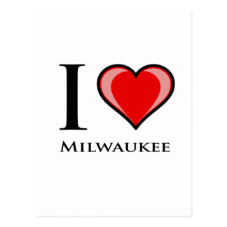 I Love Milwaukee Postcard